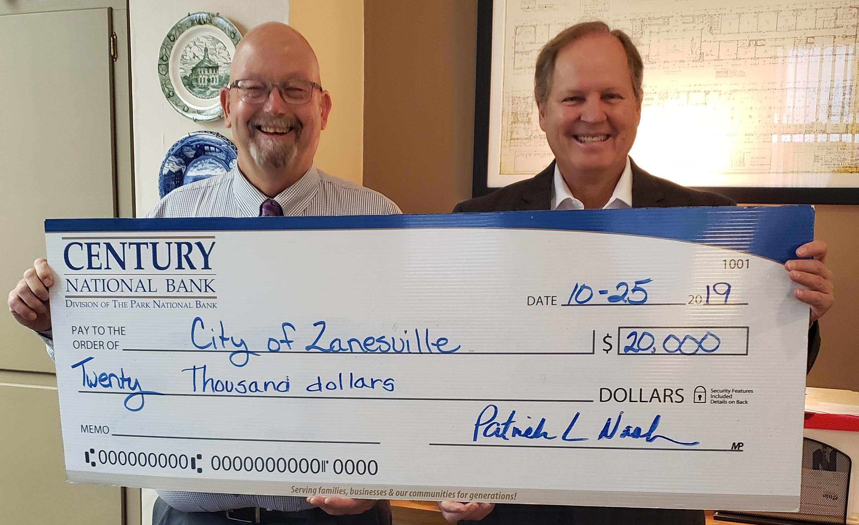 City of Zanesville Donation 2020