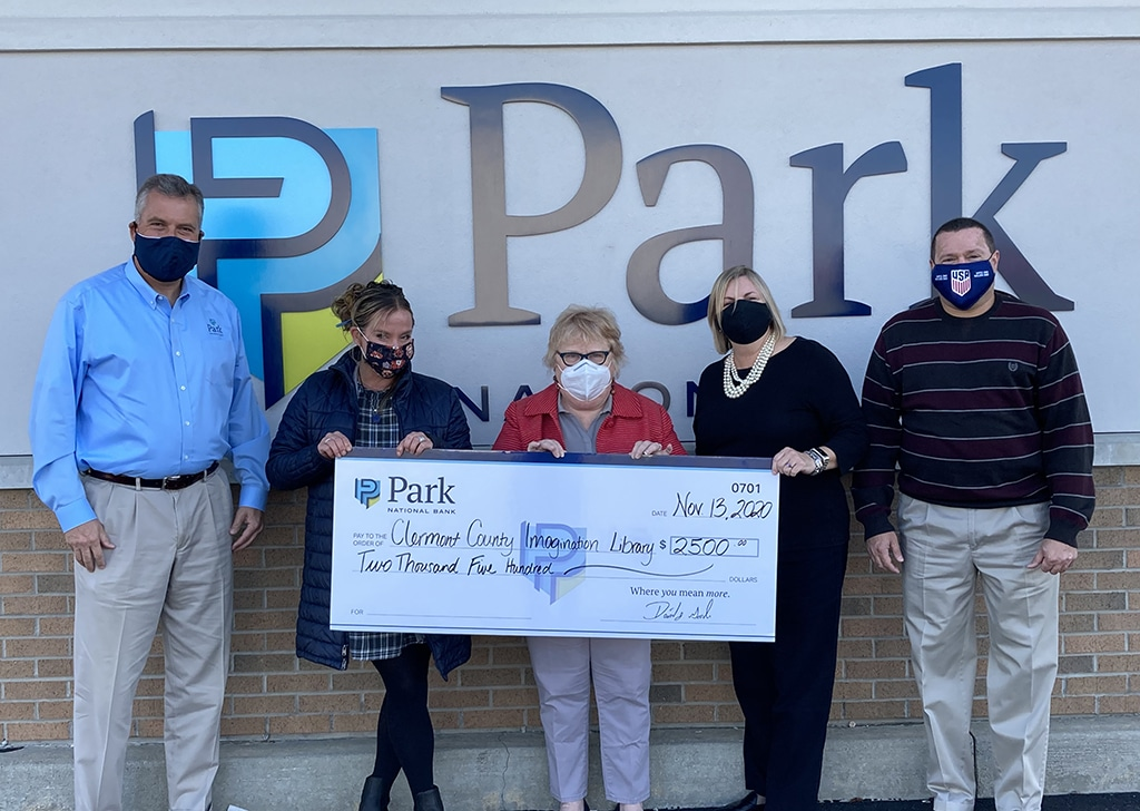 Clermont Imagination Library check presentation