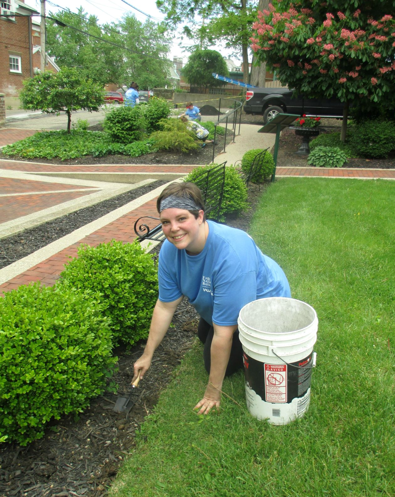 Landscaping at DACO