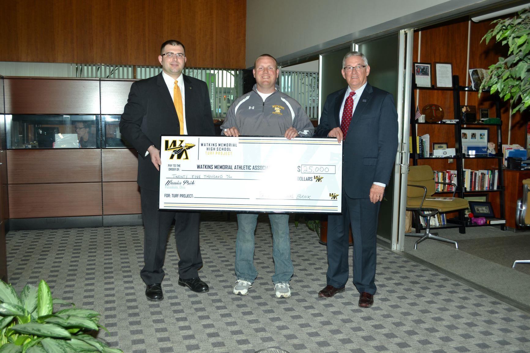 Watkins Turf Donation 2013 BLS
